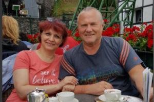 Василий Шилов с супругой